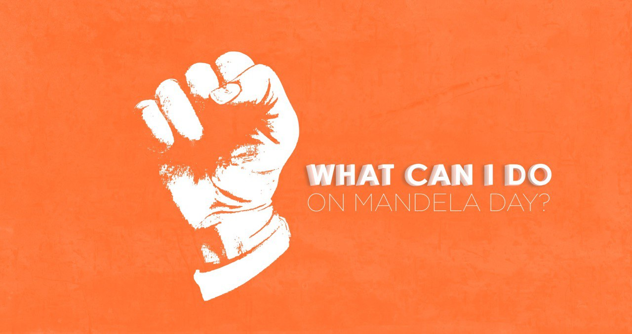 Mandela Day is STILL ON!